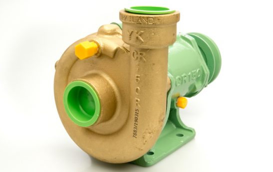 WATER CAST IRON PUMP CR-150 BRASS COVER